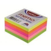 Cub notite autoadezive Noki, 76x76 mm, 400 file, culori pastel