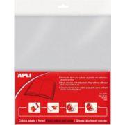 Coperta carte speciala Apli, ajustabila, 130 microni, 5 buc/set