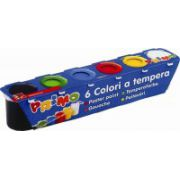 Tempera Morocolor 25 ml, 6 culori/set (MC15413)