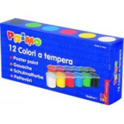 Tempera Morocolor 25 ml, 12 culori/set (MC15414)
