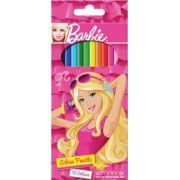 Creioane colorate Barbie, 12 culori/set
