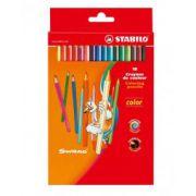 Set creioane Stabilo Color, 24 culori/set