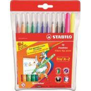 Markere Stabilo Power pentru copii, 12 culori/cutie