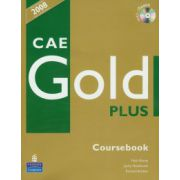 Manual limba engleza, clasa a XI-a L1, XII-a L2, CAE Gold Plus (Coursebook+CD)