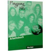 Caiet de limba germana, clasa VI-a, (Limba 2 ). Pingpong Neu 2, Arbeitsbuch