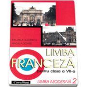 Limba franceza, Manual pentru clasa VII-A, (Limba 2) Cavallioti