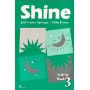 Caiet de limba engleza pentru clasa a VIII-a. Shine Level 3 Activity Book (Limba 2)