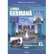 Manual pentru limba germana, clasa XI-a Limba 2 (Maria Cucu-Costeanu)