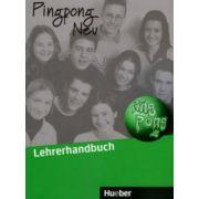 Manualul Profesorului de limba germana, clasa a VI-a, (Limba 2), Pingpong Neu 2 Lehrbuch. Dein Deutschbuch