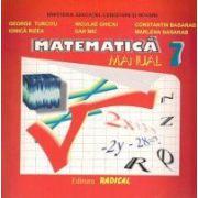 Matematica. Manual pentru clasa a VII-a - George Turcitu