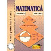 Matematica - manual pentru clasa a VII-a (Gina Caba)