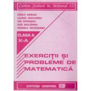 Exercitii si probleme de matematica, clasa a-X a ( Danut Dracea)