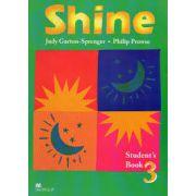 Shine 3 Student Book. Manual de limba engleza, clasa VIII-a (Limba 2)