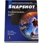 Snapshot, Pre-intermediate Student book. Manual clasa a VII-a L2 - Brian Abbs