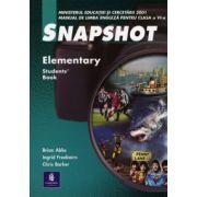 Snapshot, Elementary - Manual de engleza clasa a VI-a (limba 2)