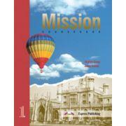 Mission 1 Student Book, Manual de limba engleza pentru clasa a XI-a
