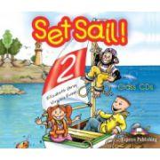 Set Sail 2 - Audio CD (Set 3 CD) (Curs pentru limba engleza, clasa II-a)