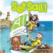 Set Sail 4, Audio CD (set 2 CD)- Curs pentru limba engleza clasa IV-a