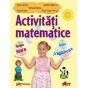 Activitati matematice - Grupa mare si pregatitoare, Florica Ancuta