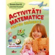 Activitati matematice pentru gradinita cu autocolante (Roxana Gavrila)