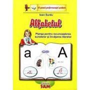 Alfabetul - Planse pentru recunoasterea sunetelor si invatarea literelor