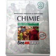 CHIMIE. MANUAL PENTRU CLASA a IX-a( Marius Andruh )