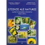 Auxiliar al manualelor alternative (Mapa cu fise), Stiinte ale naturii clasa a III-a