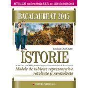 Modele de subiecte reprezentative rezolvate si nerezolvate pentru Istorie Bacalaureat 2015