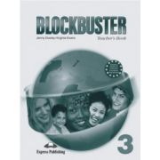 Blockbuster 3, Teachers Book(With Key and Posters ) Manualul profesorului ( Virginia Evans )