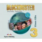 Audio-CD, Blockbuster 3, Class 4CD Curs de limba engleza - Jenny Dooley