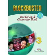 Blockbuster 3, Workbook with Grammar, Caiet de limba engleza - Jenny Dooley