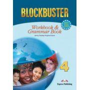 Blockbuster 4, Workbook with Grammar, Caiet pentru limba engleza clasa a VIII-a