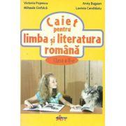Caiet pentru limba si literatura romana, clasa a II-a-Victoria Popescu