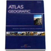 Atlas geografic. Regiunile geografice si judetele Romaniei - Marian Ene