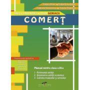Manual pentru clasa a IX-a de Comert. Filiera tehnologica, profil SERVICII