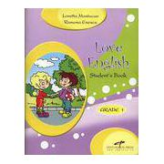 Students book, Love English. Grade 1 - Alice Mastacan