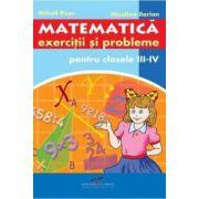Culegere de matematica pentru clasele III-IV - Ilarion Niculina