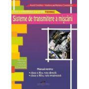 Manual pentru clasa a XI-a ruta directa, si clasa a XII-a, ruta progresiva - Sisteme de transmitere a miscarii