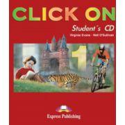 Click on1, Class audio CDs (Set 4 CD), (Curs de limba engleza pentru clasa a V-a )