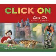 Click on 1, Class Audio CD (set 4 CD), (Curs pentru limba engleza, Clasa V-a )