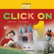 Click On 1. DVD_ROM. Curs de limba engleza, pentru clasa V-a - Virginia Evans