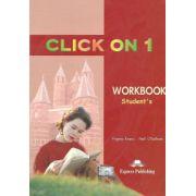 Click On 1, Workbook, Caietul elevului, Curs de limba engleza - Virginia Evans, Neil O'Sullivan