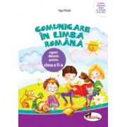 Caiet Comunicare in limba romana pentru clasa a II-a partea I - Olga Paraiala