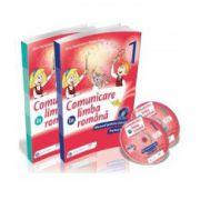 Manual pentru clasa I, Comunicare in Limba Romana - Partea I si Partea a II-a - Autori, Iliana Dumitrescu si Daniela Barbu