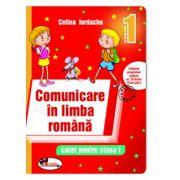 Caiet pentru clasa I, Comunicare in limba romana (Rosu) - Celina Iordache