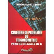 Culegere de probleme de trigonometrie, clasele IX-X (Gheorghe Schneider)