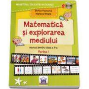 Manual Matematica si explorarea mediului pentru clasa a II-a - semestrul I +CD