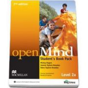 Open Mind Level 2A Student s Book Pack with DVD (2nd Edition)