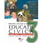 Educatie civica - Manual pentru clasa a III-a (Dumitra Radu; Gherghina Andrei)