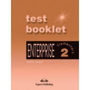 Enterprise 2 Elementary, TEST BOOKLET (Curs de limba engleza pentru clasa VI-a )